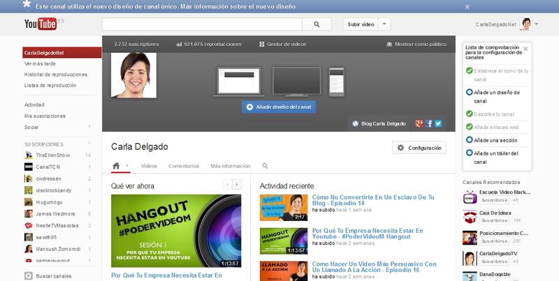 Imagen publicitaria para Youtube