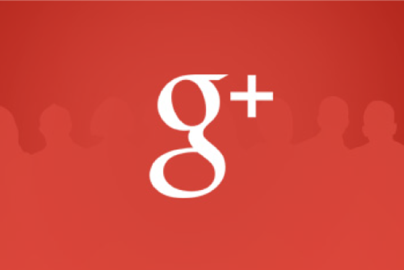 Montaje de Google+