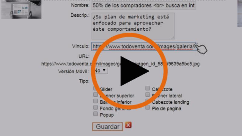 Cómo agregar un link al slider