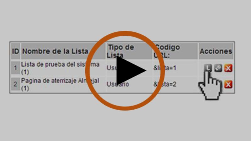 Cómo revisar los usuarios que tiene la lista o base de datos
